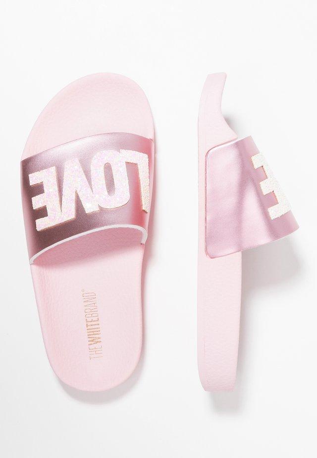 CLASSIC LOVE - Muiltjes - metallic pink
