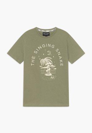 KIDS CLARCK - Camiseta estampada - olive