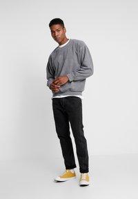 Topman - UNISEX ZURICH PUFF  - Sweatshirt - grey - 1
