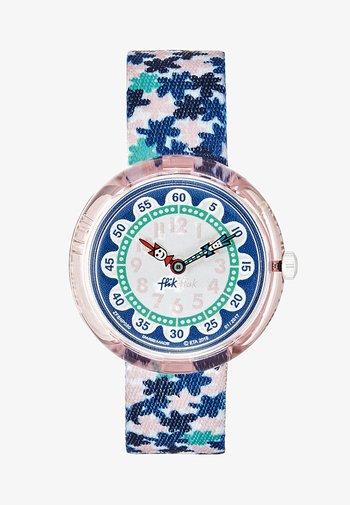 LONDON FLOWER - Watch - blau