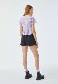 PULL&BEAR - Blouse - purple - 2
