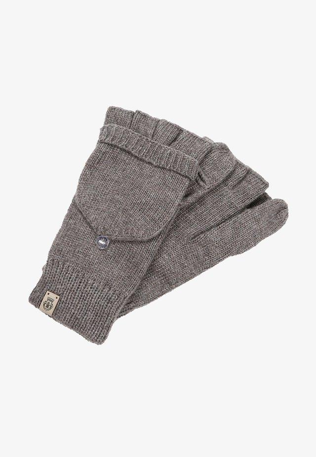 Fingerless gloves - mink