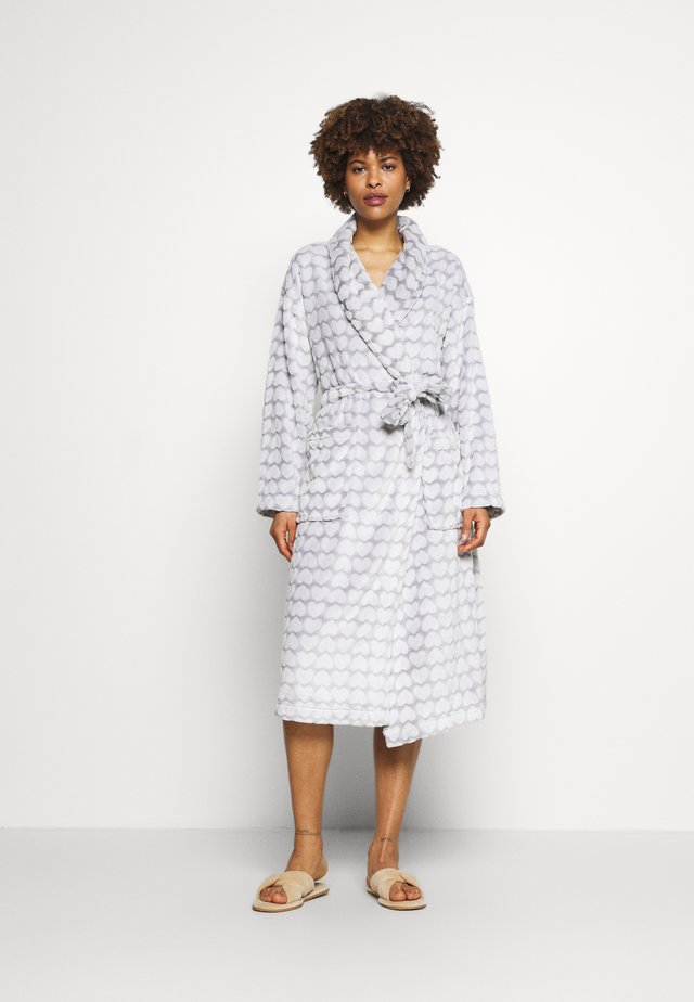 DRESSING GOWN COVER UPS - Accappatoio - silver grey