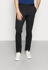 Only & Sons - ONSMARK PANT STRIPE - Spodnie materiałowe - black - 0
