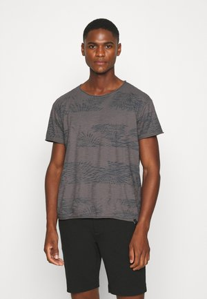 ALLEN - T-shirt con stampa - light grey