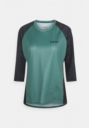ROUST 3/4  - Funkční triko - grey/green pounce
