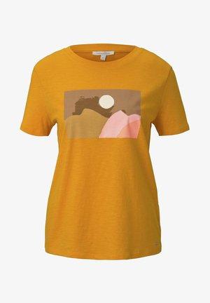 T-shirts med print - orange yellow