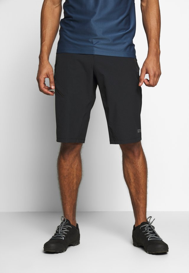 Shorts outdoor - black