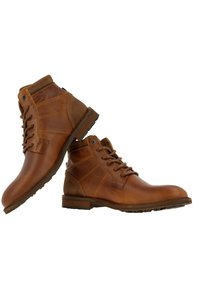 Gaastra - Lace-up ankle boots - cognac - 4