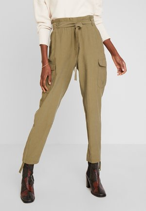 LONA PANTS - Broek - burnt olive