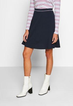 BERNADETTE - Áčková sukně - navy