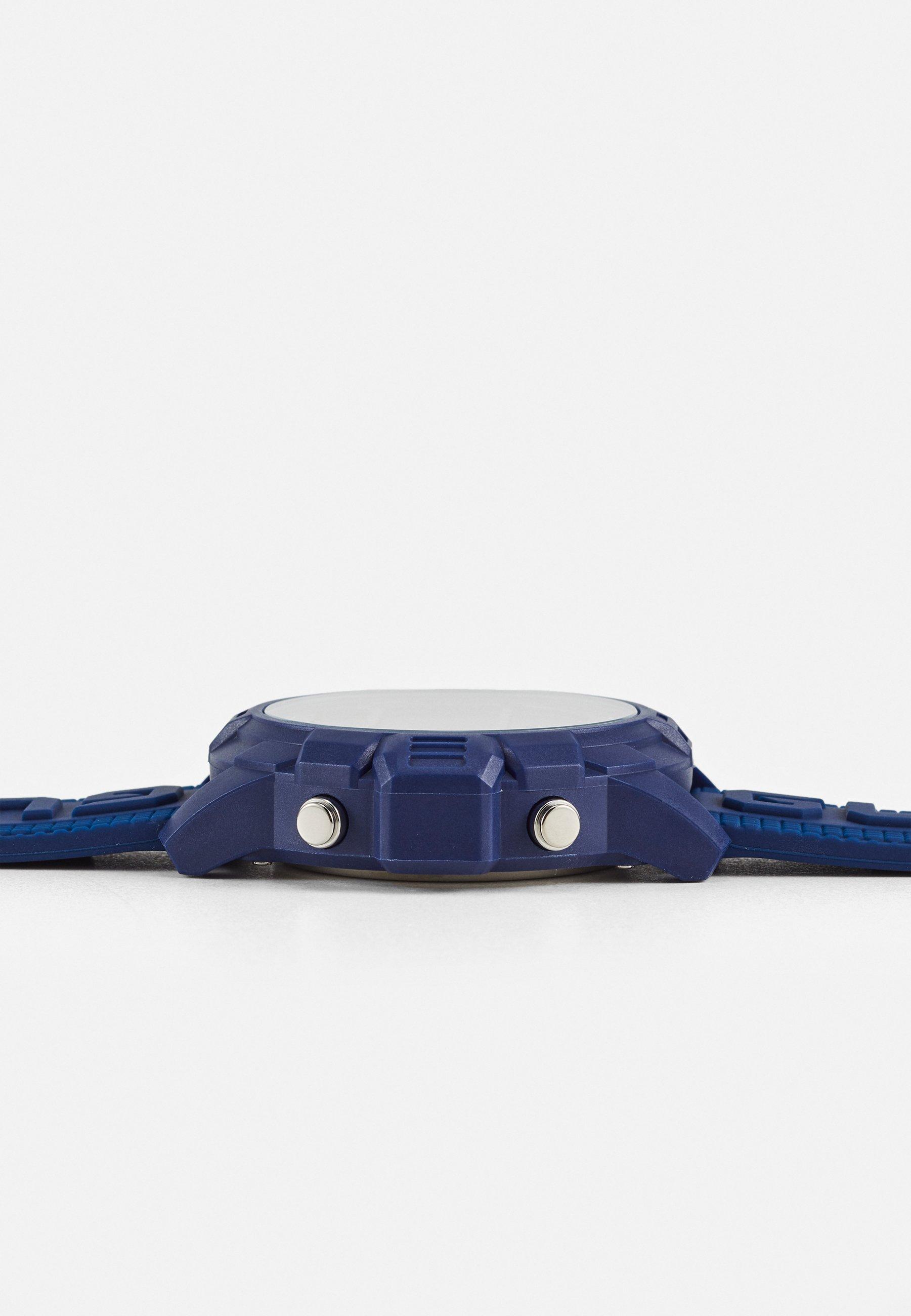 Guess Digitalklokke - blue/blå xVmy3fOnfHh2Nft