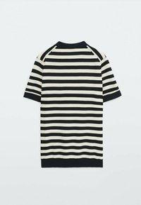Massimo Dutti - Polo shirt - blue black denim - 3