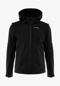 Icepeak - LEONIDAS - Soft shell jacket - black - 7