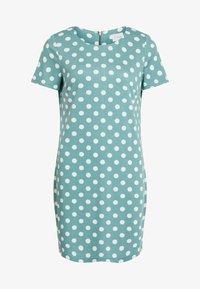 Vila - VITINNY - Shift dress - turquoise - 4