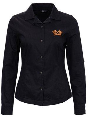 IM RACING DESIGN  - Button-down blouse - schwarz