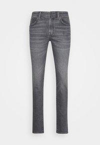 SLHSLIM LEON - Slim fit jeans - medium grey denim