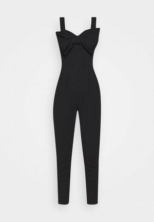 BOW DETAIL JUMSPUIT - Jumpsuit - black