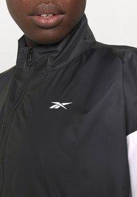 Reebok - LINEAR LOGO JACKET - Training jacket - black - 3
