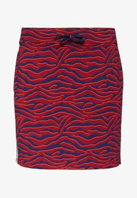 WE Fashion - ZEBRADESSIN ROK - Minijupe - vintage red - 0