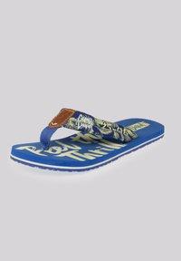 Camp David - MUSTERPRINT - T-bar sandals - action blue - 5