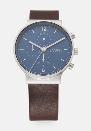 ANCHER UNISEX - Chronograph watch - brown
