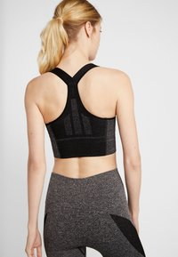 LNDR - ROCKET SPORTS BRA - Sports-bh'er - dark grey marl - 2