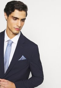 Burton Menswear London - SET - Tie - blue - 0