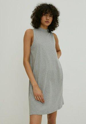 ALEANA - Jumper dress - graumeliert