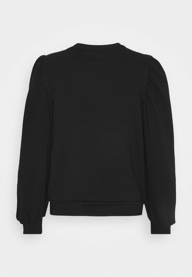 OBJMAJA PULLOVER - Sweater - black
