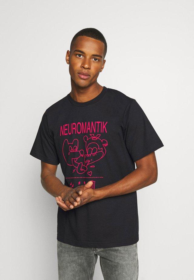 TUBOLAR - T-shirt print - black