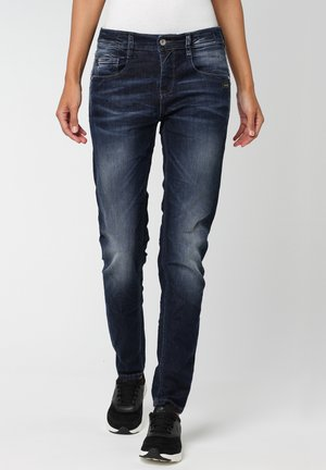 RELAXED FIT AMELIE - Relaxed fit jeans - vivid dark vintage