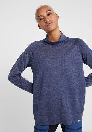 CAMPUS CREW - Sports shirt - bucket blue