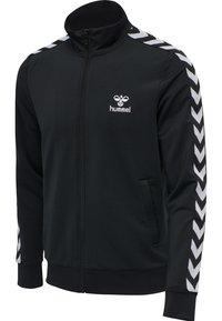 Hummel - Zip-up hoodie - black - 4