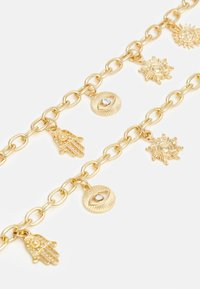 Pieces - PCSILKE BRACELET NECKLACE 2 PACK - Necklace - gold-coloured - 2