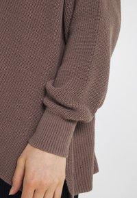 Cotton On - BOYFRIEND CARDIGAN - Cardigan - brownstone - 5