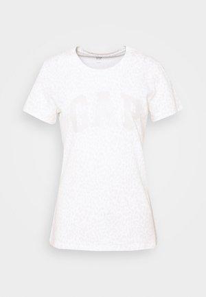 TEE - Print T-shirt - snow