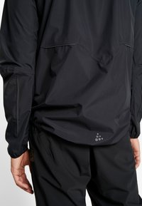 Craft - ADOPT RAIN JACKET - Regnjakke - black - 5