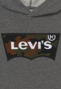 Levi's® - BATWING HOODIE - Mikina skapucí - charcoal heather - 3