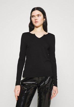 VMPANDA V NECK  - Långärmad tröja - black