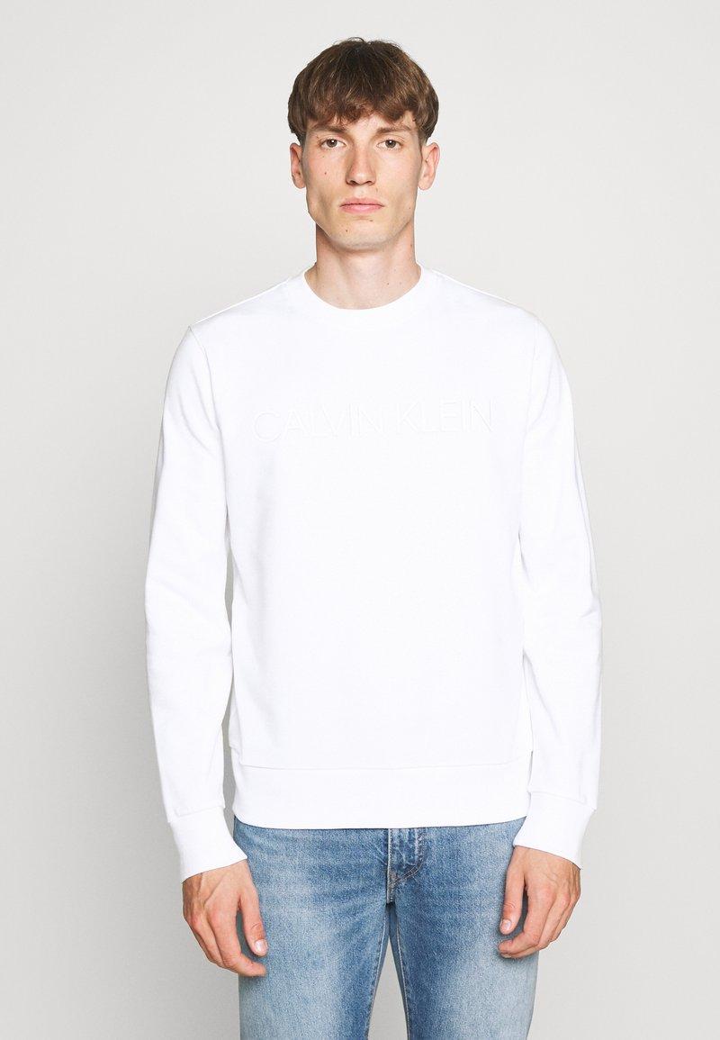Calvin Klein - TONE LOGO  - Sweatshirt - white