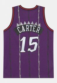 Mitchell & Ness - NBA TORONTO RAPTORS VINCE CARTER UNISEX - Club wear - purple - 1