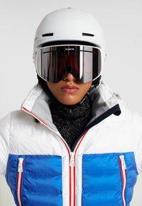 Flaxta - PLENTY - Gogle narciarskie - white - 4