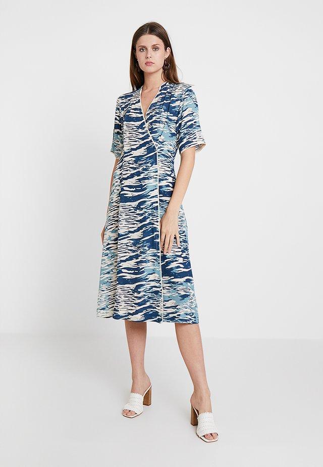 NARA - Day dress - turquoise