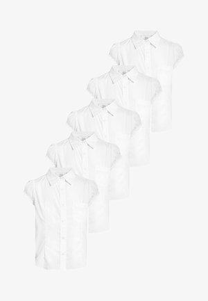 5 PACK - Overhemdblouse - white