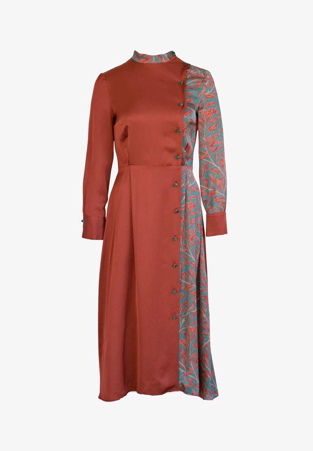 Day dress - bordo