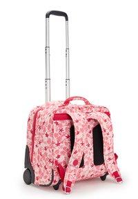 Kipling - School bag - pink leaves - 1