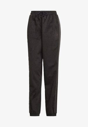 CUFFED SPORTS INSPIRED PANTS - Tracksuit bottoms - black