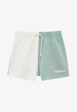 MIT COLOUR-BLOCK - Shorts - white