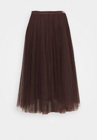 Cream - DIANA SKIRT - A-line skirt - dark brown - 0